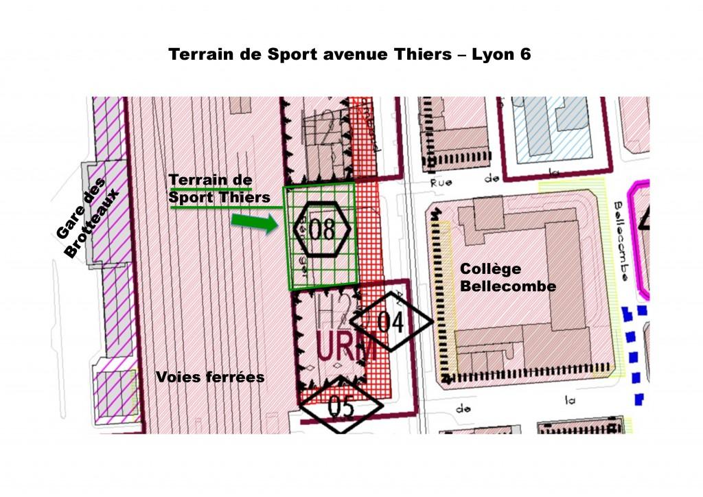 PLU Terrain Thiers