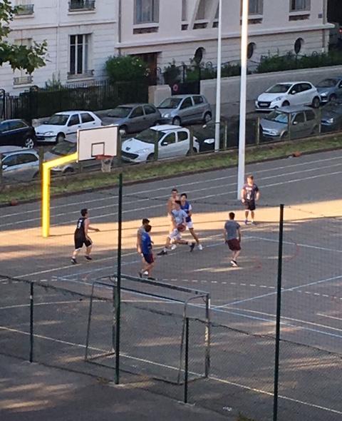 Basket vendredi